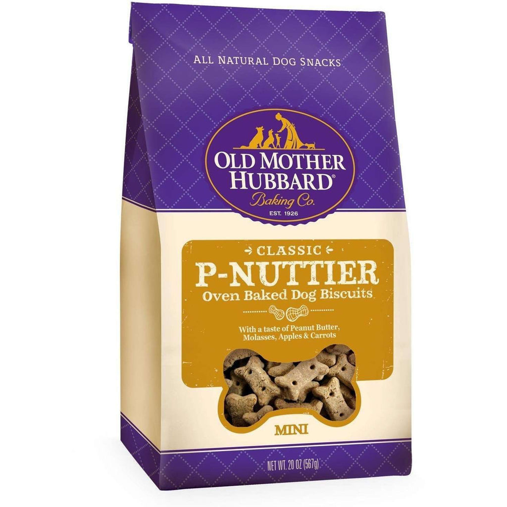 Old Mother Hubbard P'Nuttier  Dog Treats - PetMax