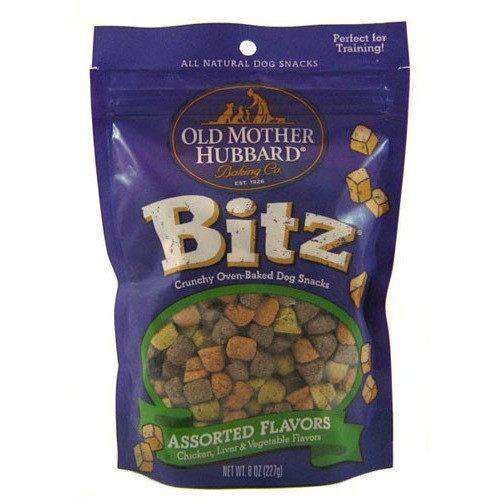 Old Mother Hubbard Meaty Bitz Assorted Flavours  Dog Treats - PetMax
