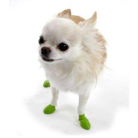 Pawz Dog Boots Lime Green / Tiny Dog Clothing - PetMax