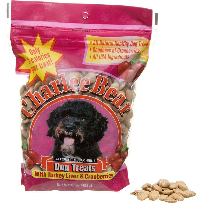 Charlee Bear Dog Treats Turkey & Cranberry | Dog Treats -  pet-max.myshopify.com