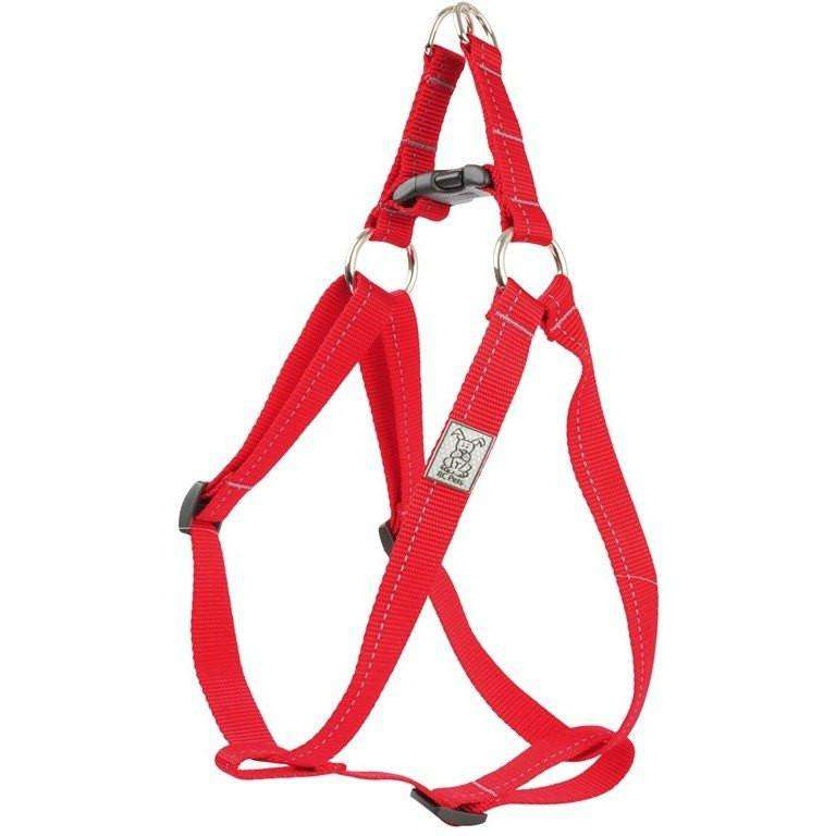 RC Step In Dog Harness Primary Red / 1/2 X 10 - 16 Harnesses - PetMax