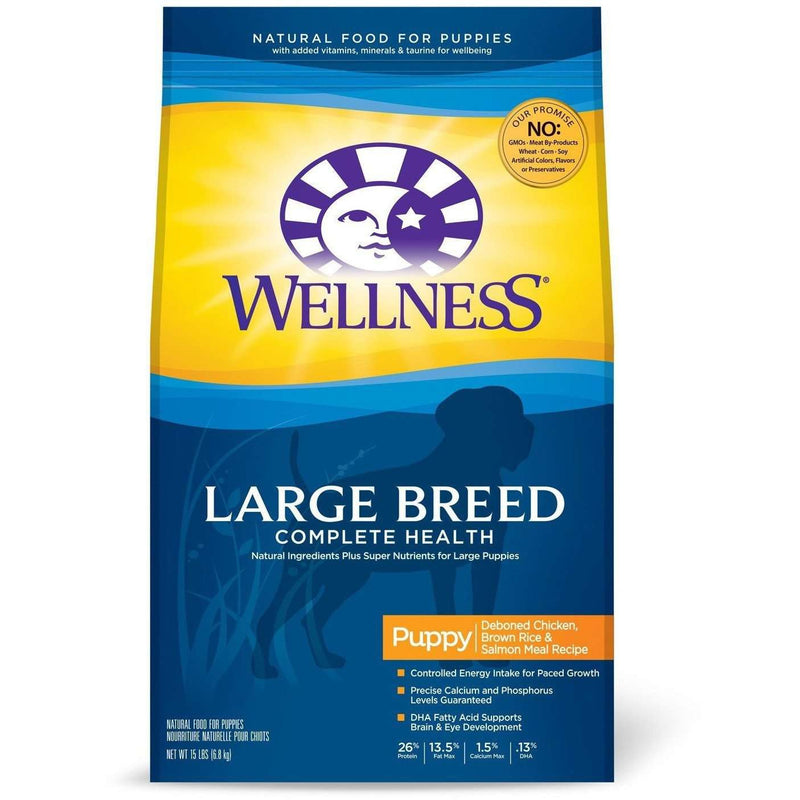 Wellness Dog Super5 Mix Large Breed Puppy Dog Food [variant_title] [option1] - PetMax.ca