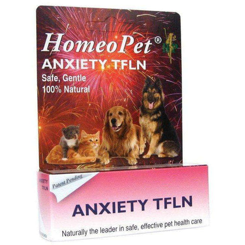 Homeopet TFLN Anxiety Relief, Stress Relief, Homeopet - PetMax Canada