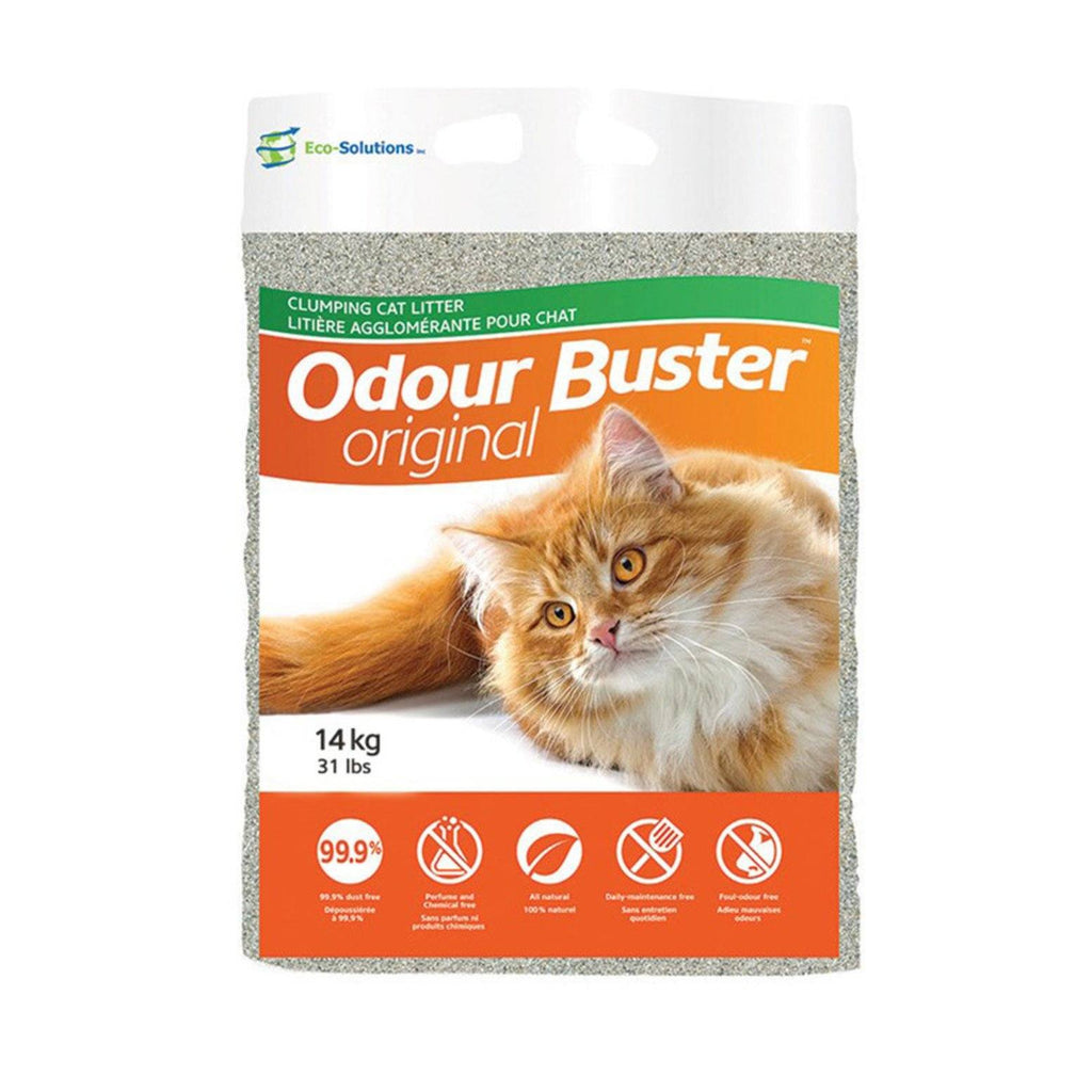 Odour Buster Clumping Cat Litter [variant_title] [option1] | Cat Litter Odour Buster -  pet-max.myshopify.com