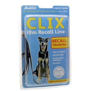 Clix Long Recall Line Training Lead 10 Meters Training Products - PetMax