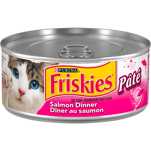 Friskies Canned Salmon Dinner Pate, Canned Cat Food, Nestle Purina PetCare - PetMax