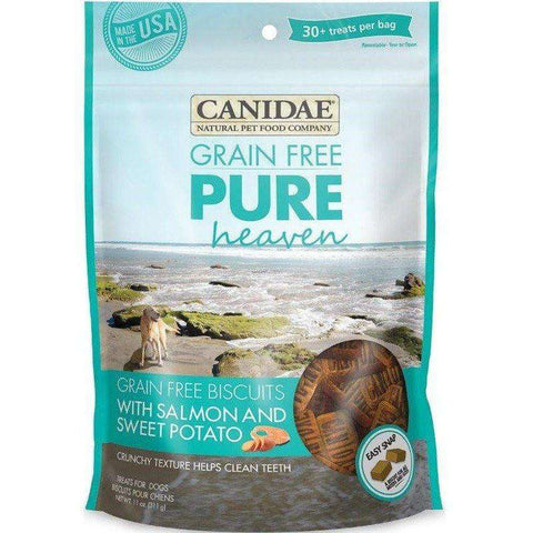 Canidae Pure Grain Free Biscuits Salmon & Sweet Potato, Dog Treats, Canidae Pet Foods - PetMax