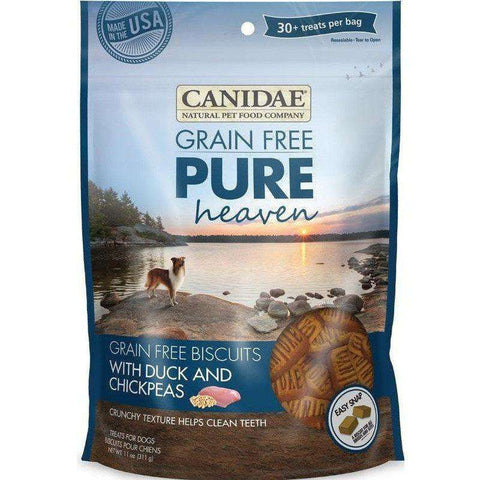 Canidae Pure Grain Free Biscuits Duck & Chickpeas, Dog Treats, Canidae Pet Foods - PetMax