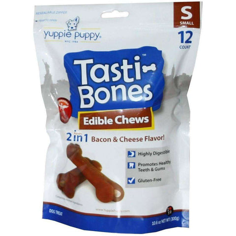 Yuppie Puppy Tasti-Bones, Chew Products, Burgham - PetMax