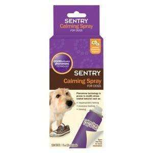 Sentry Dog Calming Spray, Stress Relief, Sergeants - PetMax Canada