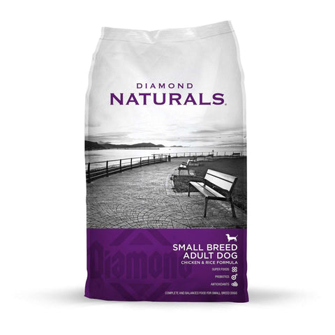 Diamond Naturals Dog Food Adult Small Breed Chicken & Rice, Dog Food, Diamond Pet Food - PetMax Canada