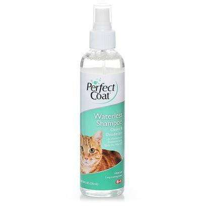 Perfect Coat Waterless Cat Shampoo Spray, Cat Grooming, 8 in1 Pet Products, Inc. - PetMax Canada