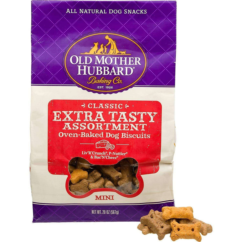 Old Mother Hubbard Extra Tasty Assorted | Dog Treats -  pet-max.myshopify.com