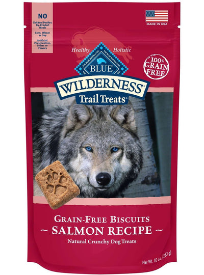 Blue Buffalo Wilderness Dog Treats Salmon & Chicken, Dog Treats, Blue Buffalo Company - PetMax Canada