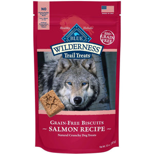 Blue Buffalo Wilderness Dog Treats Salmon & Chicken | Dog Treats -  pet-max.myshopify.com