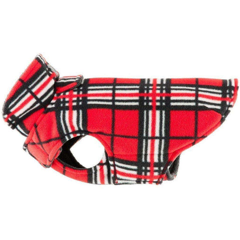 RC Dog Coat Whistler Winter Wear Red Tartan, Dog Clothing, RC Pet Products - PetMax