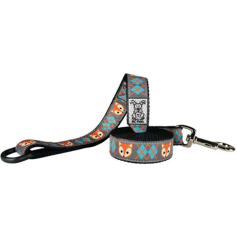 RC Dog Leash Pattern Fox, Dog Leashes, RC Pet Products - PetMax