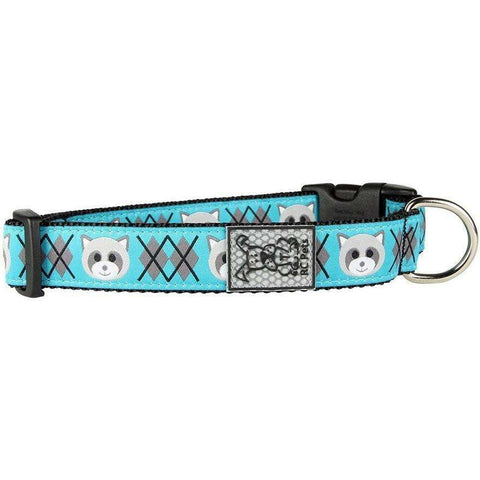 RC Dog Adjustable Collar Pattern Raccoon, Dog Collars, RC Pet Products - PetMax Canada