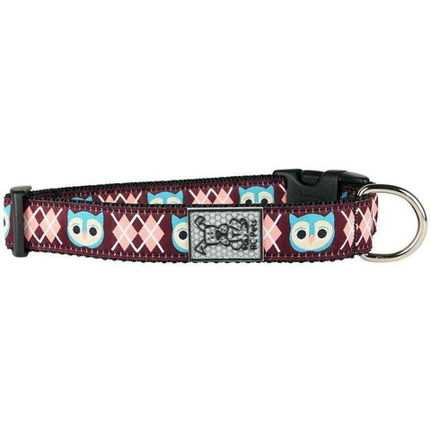 RC Dog Adjustable Collar Pattern Owl