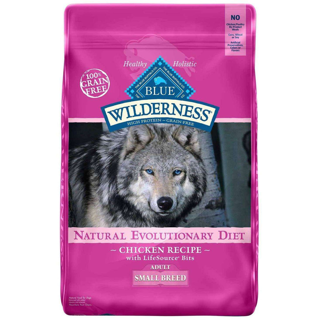 Blue Buffalo Wilderness Dog Food Small Breed Chicken, Dog Food, Blue Buffalo Company - PetMax Canada