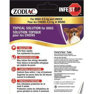 Zodiac Infestop For Dogs, Dog Flea & Tick, Zodiac - PetMax Canada