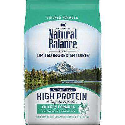 Natural Balance Cat Food L.I.D. High Protien Chicken | Dry Cat Food -  pet-max.myshopify.com