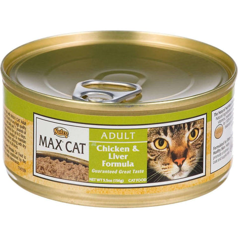 Max Canned Cat Food Chicken And Liver, Canned Cat Food, Nutro Pet Products - PetMax