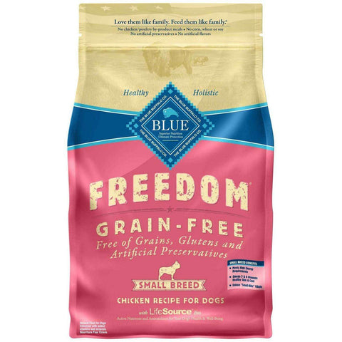 Blue Freedom Adult Dog Food Small Breed Chicken, Dog Food, Blue Buffalo Company - PetMax