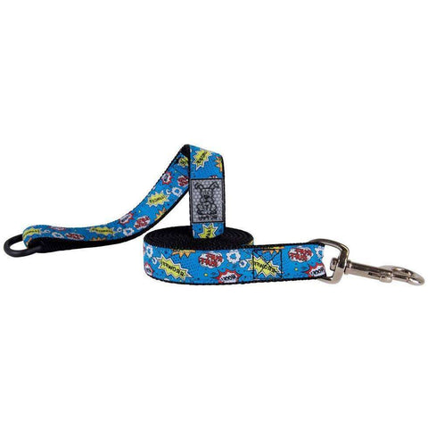 RC Dog Leash Pattern Comic Sounds, Dog Leashes, Spring Collection - PetMax Canada
