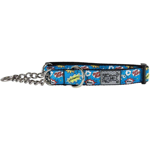 RC Dog Training Collar Pattern Comic Sounds, Dog Collars, Spring Collection - PetMax Canada