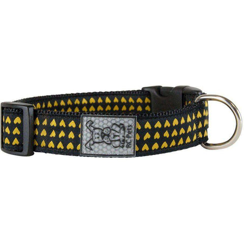 RC Dog Adjustable Collar Pattern Heart Of Gold