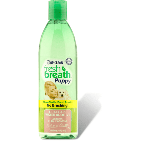 Tropiclean Fresh Breath Water Additive Puppies