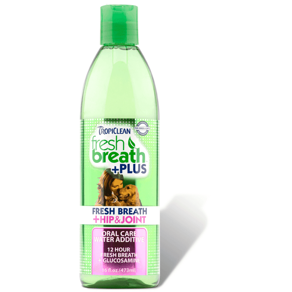 Tropiclean Fresh Breath Water Additive Hip & Joint  Health Care - PetMax