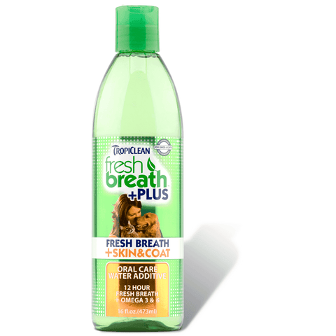 Tropiclean Fresh Breath Water Additive Skin & Coat, Health Care, Tropiclean - PetMax
