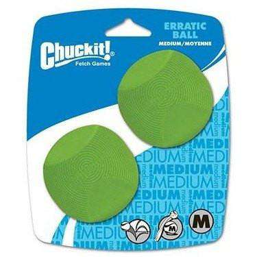 Chuck It Erratic Balls  Dog Toys - PetMax