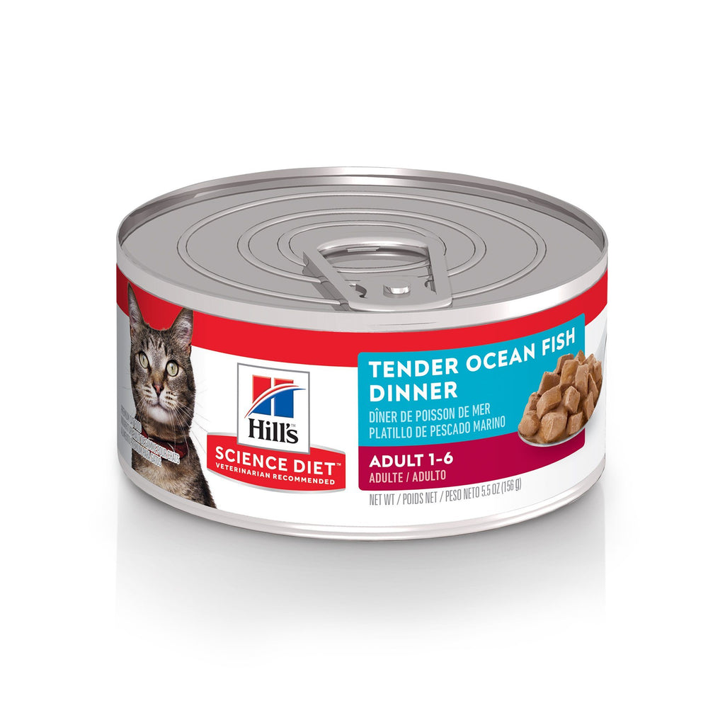 Science Diet Canned Cat Food Tender Dinners Oceanfish - Case of 24  Canned Cat Food - PetMax