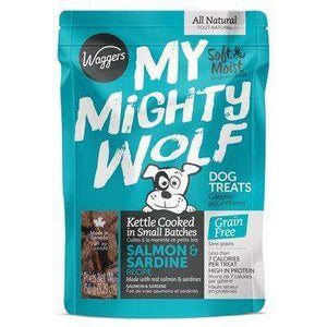 Waggers My Mighty Wolf Dog Treats Salmon | Dog Treats -  pet-max.myshopify.com