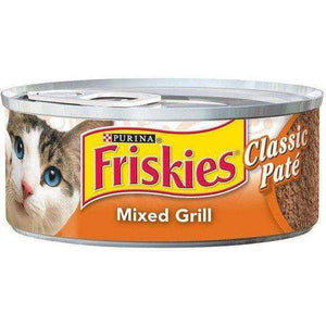 Friskies Canned Classic Pate  Canned Cat Food - PetMax