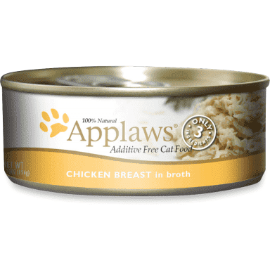 Applaws Canned Cat Food Chicken Breast In Broth  Canned Cat Food - PetMax