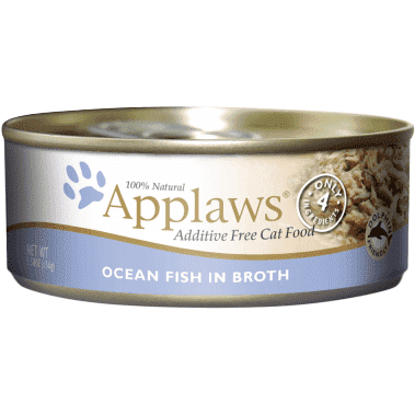 Applaws Canned Cat Food Ocean Fish In Broth  Canned Cat Food - PetMax
