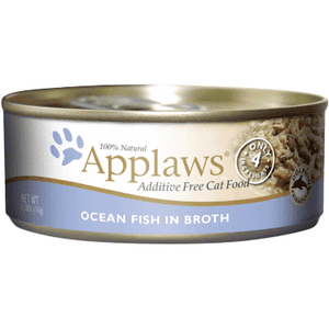 Applaws Canned Cat Food Ocean Fish In Broth | Canned Cat Food -  pet-max.myshopify.com