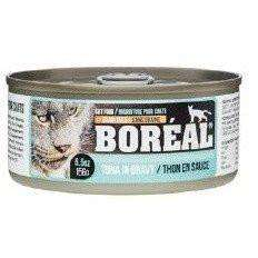 Boreal Canned Cat Food Tuna Red Meat Gravy With Whitefish, Canned Cat Food, Boreal Pet Food - PetMax Canada