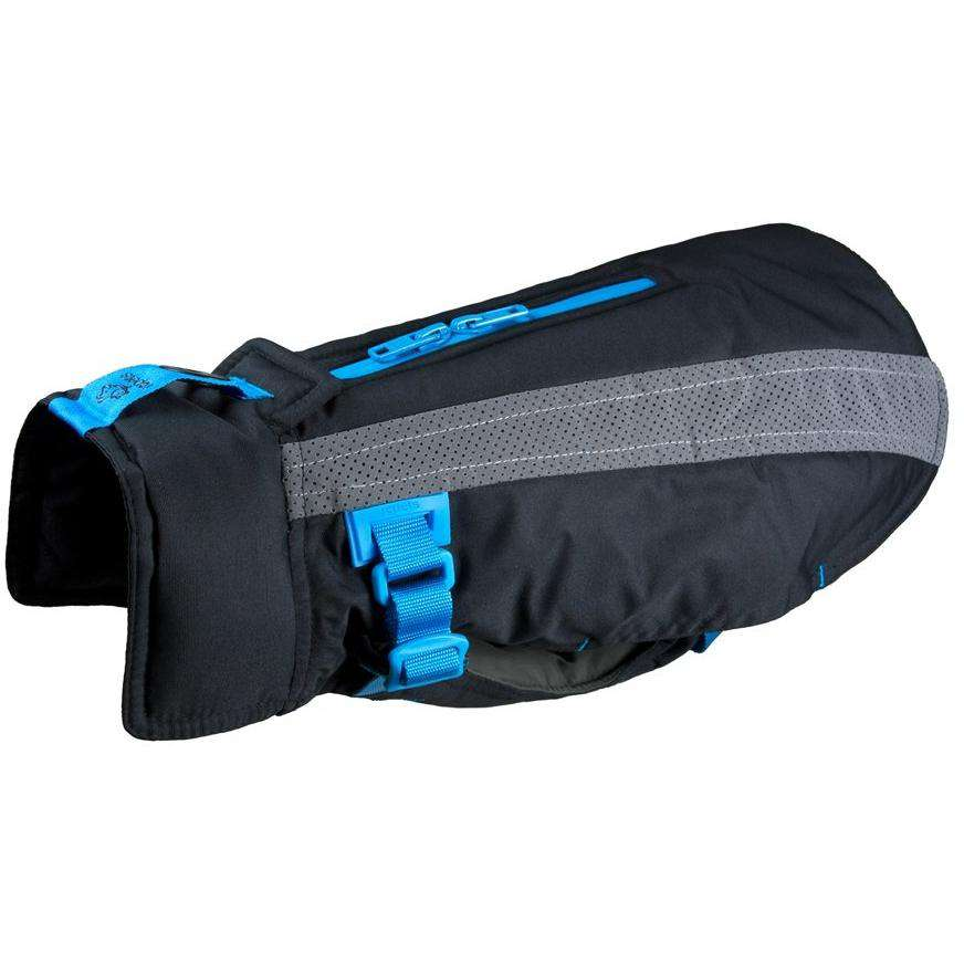 RC Dog Vortex Parka Black & Blue  Dog Clothing - PetMax