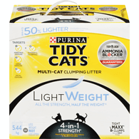 Tidy Cat Lightweight Clumping Litter 4-In-1 Box [variant_title] [option1] | Cat Litter Tidy Cat -  pet-max.myshopify.com
