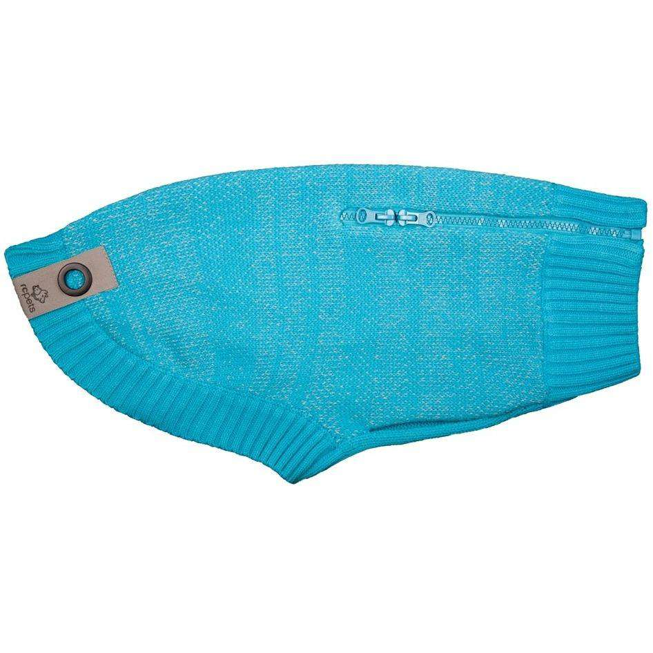 RC Dog Polaris Sweater Teal  Dog Clothing - PetMax