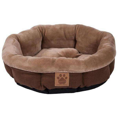 Precision Round Shearling Bed, Dog Beds, Precision Pet Products - PetMax