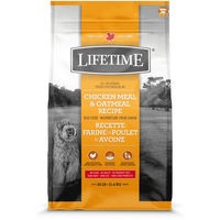 Lifetime Adult Dog Food Chicken & Oatmeal