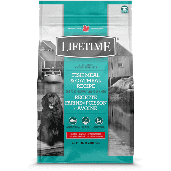Lifetime All Life Stages Dog Food Fish & Oatmeal  Dog Food - PetMax