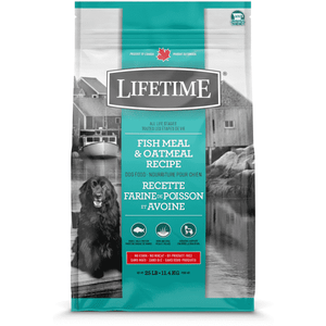 Lifetime Adult Dog Food Fish & Oatmeal