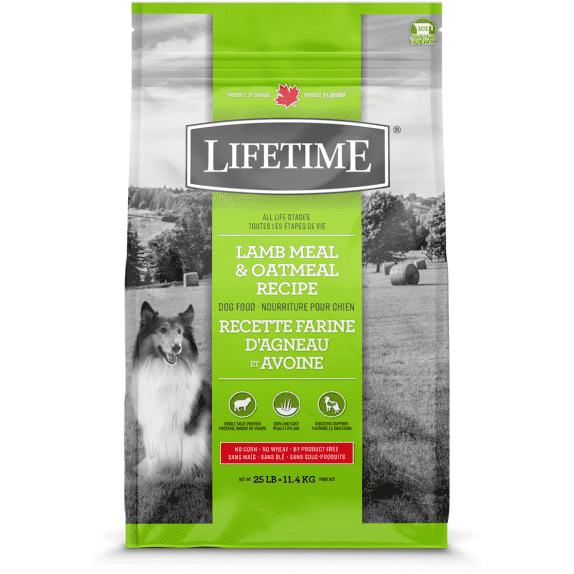 Lifetime Adult Dog Food Lamb & Oatmeal  Dog Food - PetMax